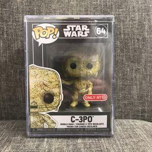 Star Wars C-3PO Futura Funko Pop Target Exclusive